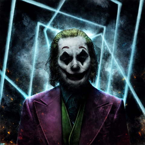 Joker dark knight/v