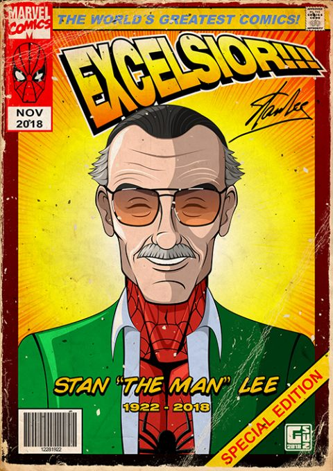 G-SUS ART STAN LEE TRIBUTE ART PRINT