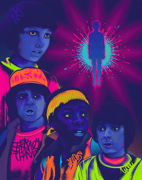 Stranger Things – Neon Visions