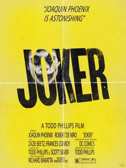 """""""HERE'S ARTHUR!"""" Joker Inspired Poster"""