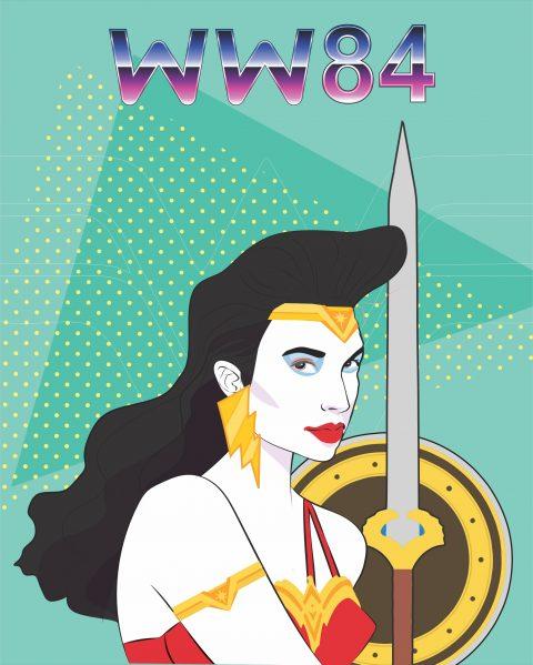 WW84 – WONDER WOMAN 1984 – GAL GADOT 80s look