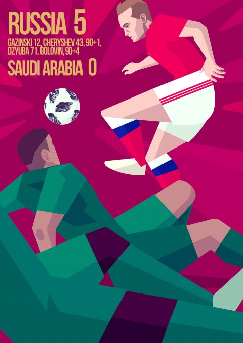 World Cup Moments 2018: Russia vs Saudia Arabia