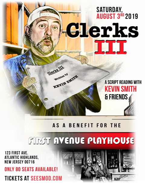 Clerks III – A Live Script Reading with Kevin Smith and Friends