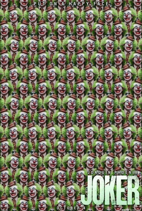 """""""Clown Behind The Clown"""" Joker Tribute Poster"""
