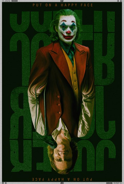 """""""Which Way Is Up?"""" – 'Joker' Tribute Poster"""