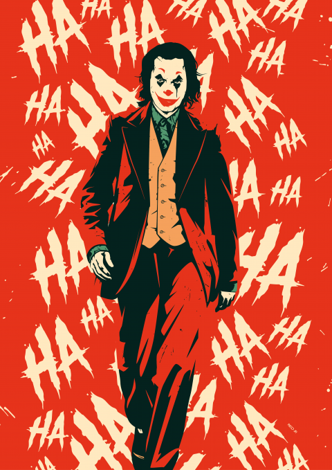 JOKER Poster (HA)rt