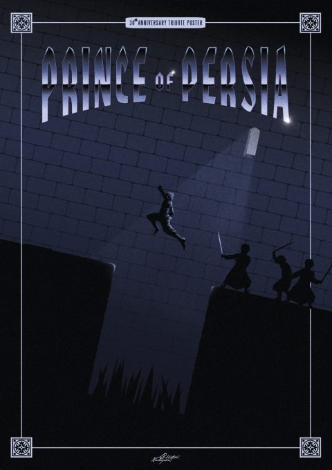 Prince of Persia – 30th anniversary tribute poster