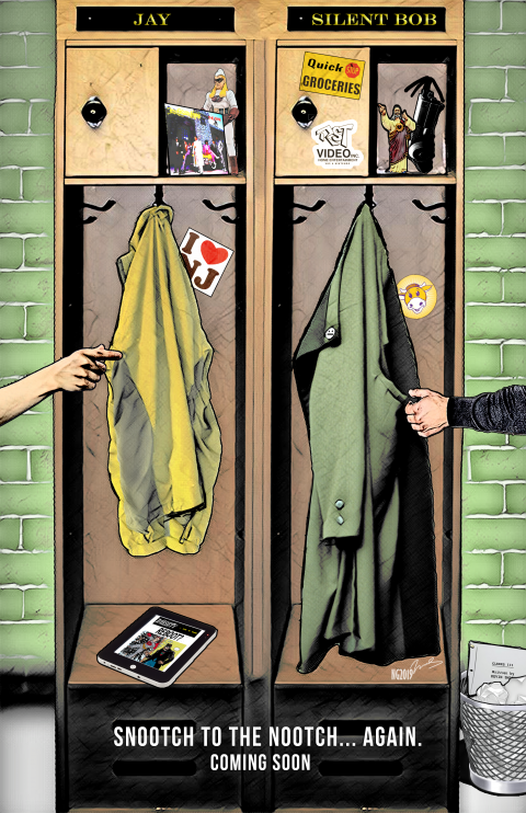 Jay and Silent Bob Reboot – Teaser Poster