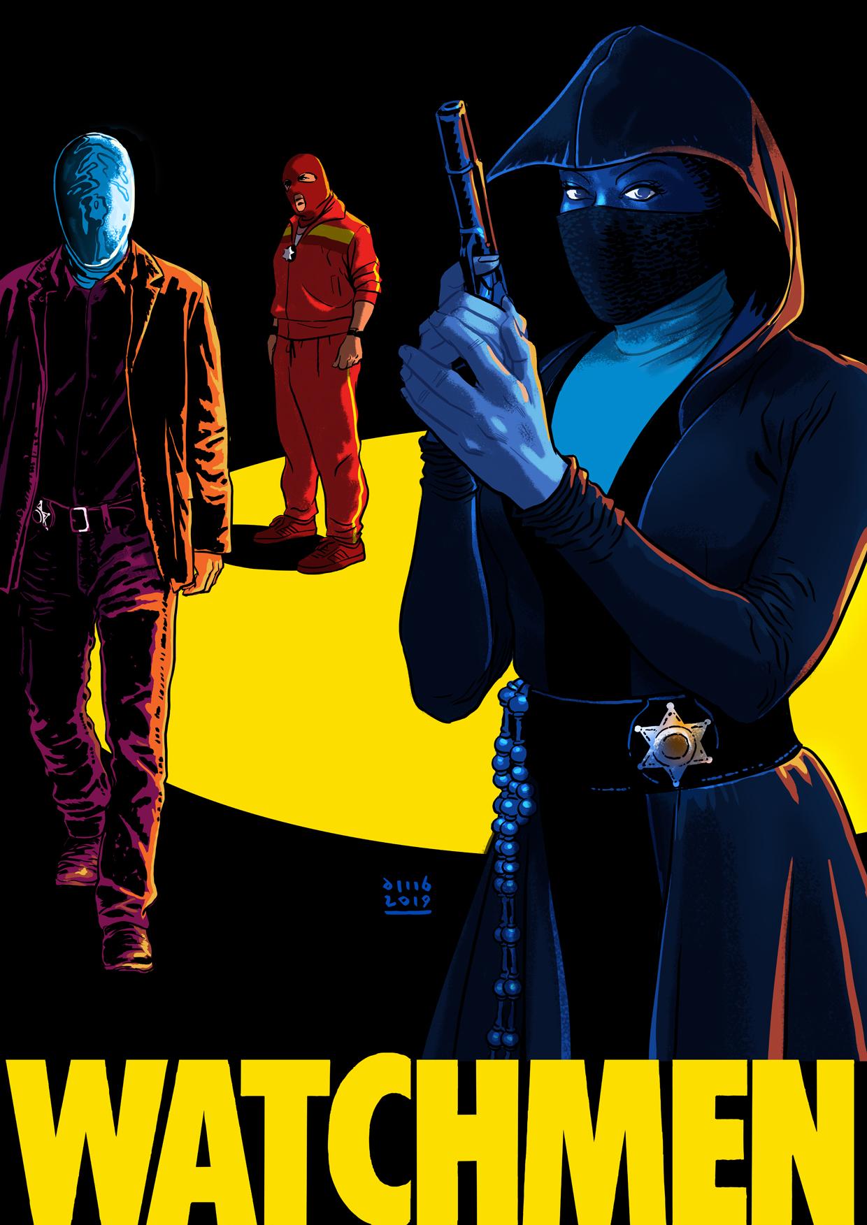 Resultado de imagem para watchmen hbo poster