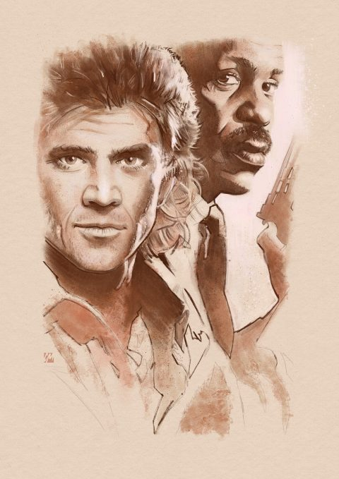Lethal Weapon sketch