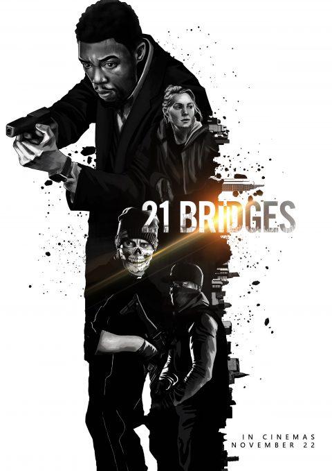 21 Bridges Poster Entry #2