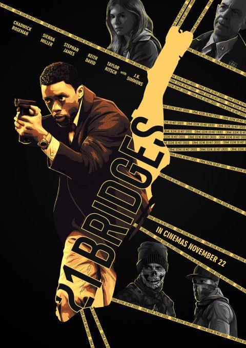21 Bridges – poster 2