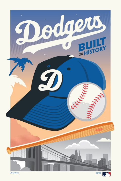 Dodgers: Built On History (MLB Gallery 1988)
