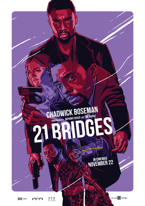 21 BRIDGES – Alternative Movie Poster
