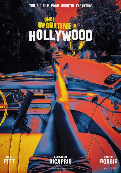 Once Upon a Time in Hollywood – QT 60's style poster