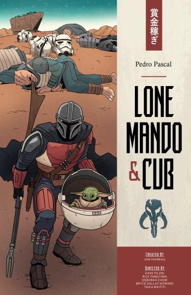 Lone Mando and Cub