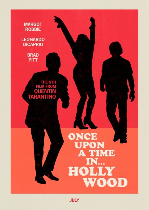 ONCE UPON A TIME IN… HOLLYWOOD // alternative poster
