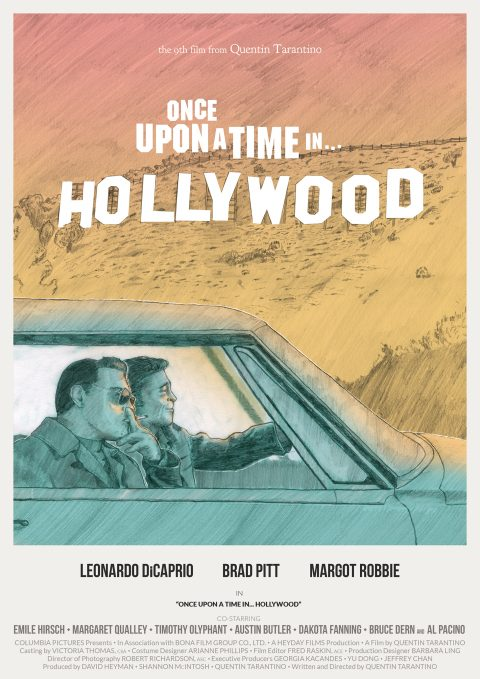 Once Upon a Time in… Hollywood (color variant)