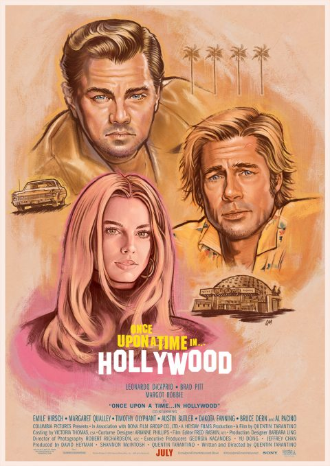 Once Upon A Time In Hollywood – option 1