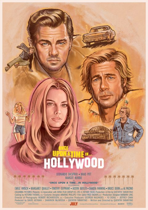 Once Upon A Time In Hollywood – option 2