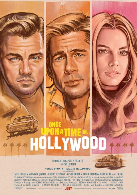 Once Upon A Time In Hollywood – option 3