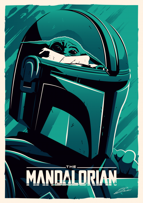 THE MANDALORIAN Arts