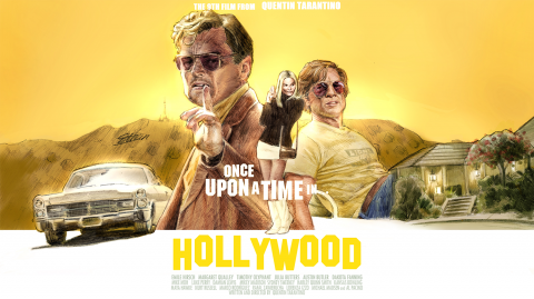 Once Upon a Time in Hollywood 16:9