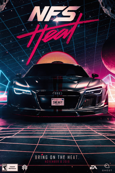 Need For Speed: Heat | By SneakyArts