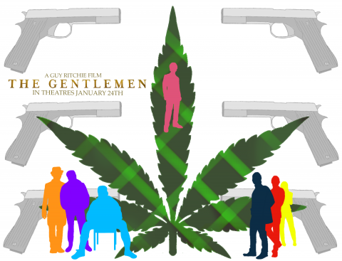 Poster for The Gentlemen
