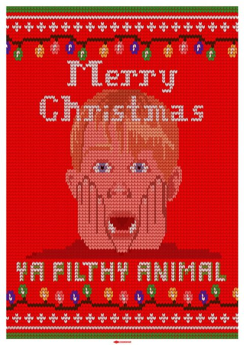 Knitted Posters