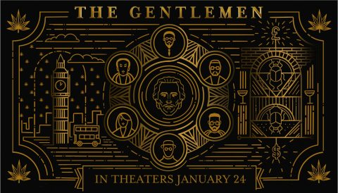 The Gentlemen – Iconic Poster