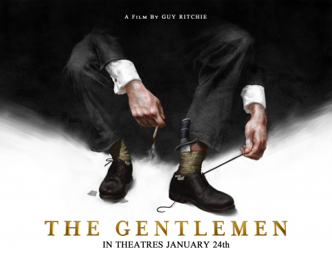 The Gentlemen LA Poster Preslav Kostov