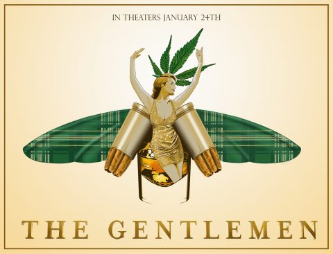 The Gentlemen LA Poster Design