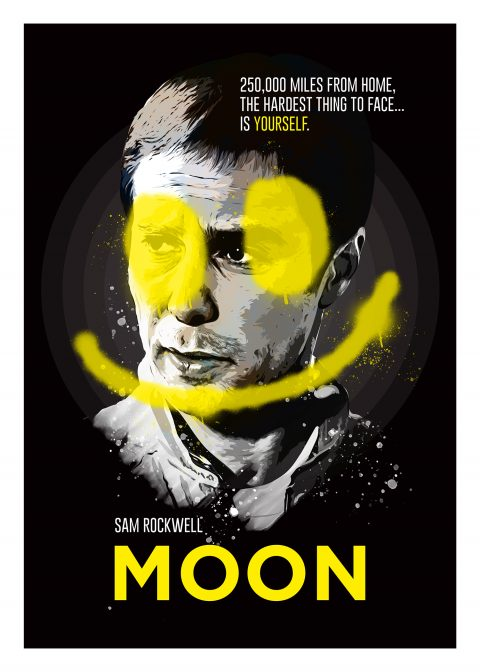 Moon: Alternative movie poster