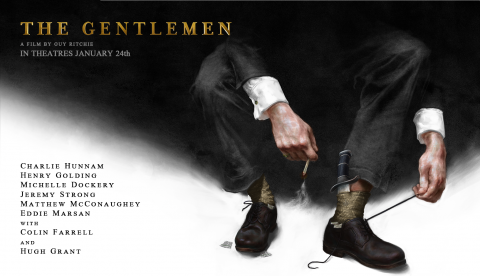 The Gentlemen NYC Poster Preslav Kostov