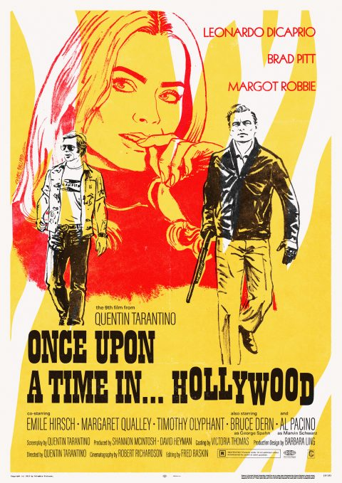 Once upon a time in… Hollywood v2