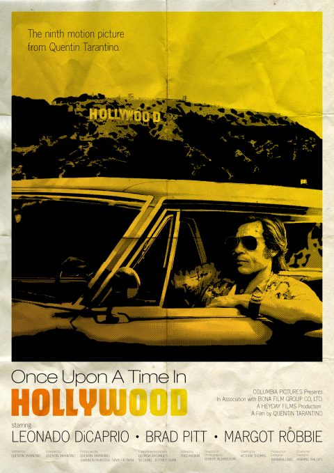 Once Upon A Time In Hollywood – Cliff Booth Drama Inspired Poster