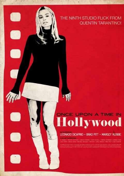 Once Upon A Time In Hollywood – Sharon Tate Romance Inspired Poster