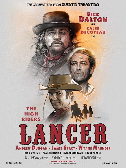 LANCER – The movie within the movie Once Upon a Time in Hollywood