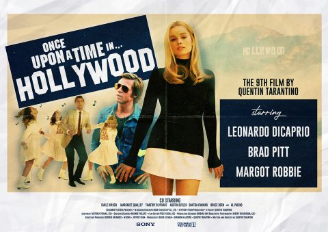 Once Upon A Time In Hollywood – Movie Poster
