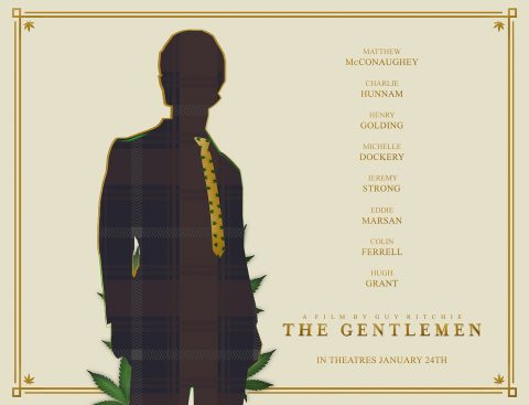 The Gentlemen (Gold Tie Outline)