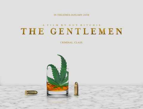 The Gentlemen (Leaf In Glass)