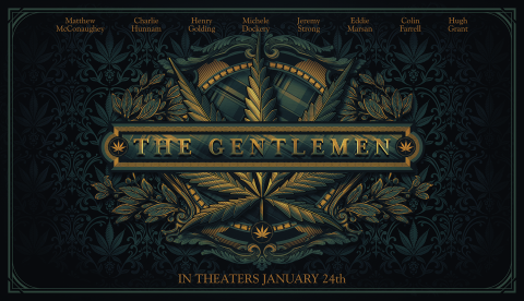 The Gentlemen poster NYC version