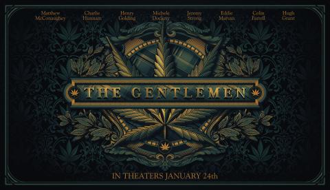 The Gentlemen poster NYC version