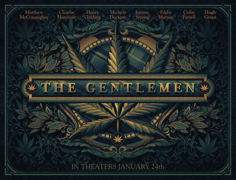 The Gentlemen poster LA version
