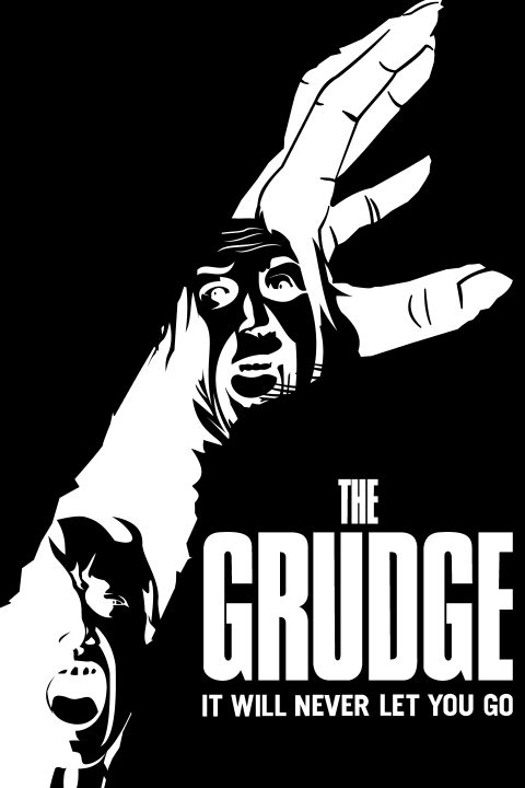 """The Grudge """"In The Grip of Rage"""" Poster"""