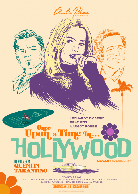 Once Upon a Time in Hollywood (Variant)