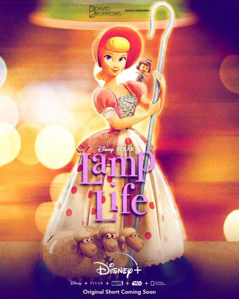 Lamp Life Pixar Short Poster