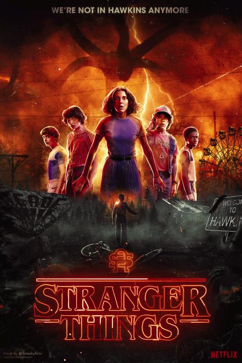 Stranger Things 4 | By SneakyArts