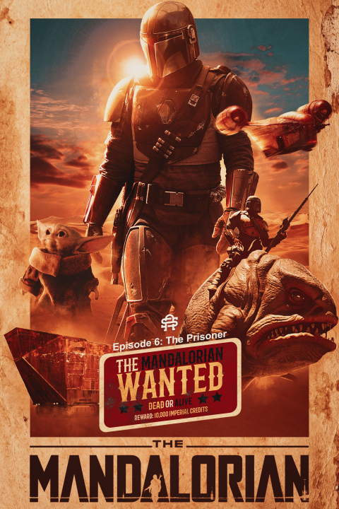 The Mandalorian x Wild West | By SneakyArts